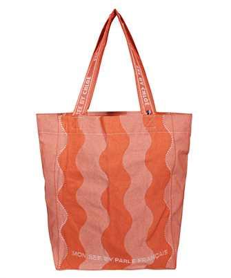 patterned jacquard bag
