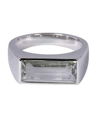 tom wood green quartz ring