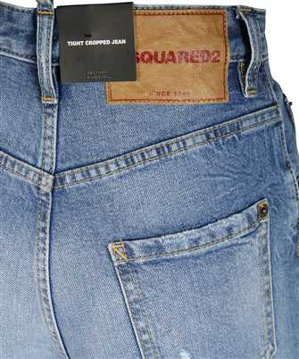 Dsquared2 MEDIUM HAZE TIGHT CROPPED Jeans