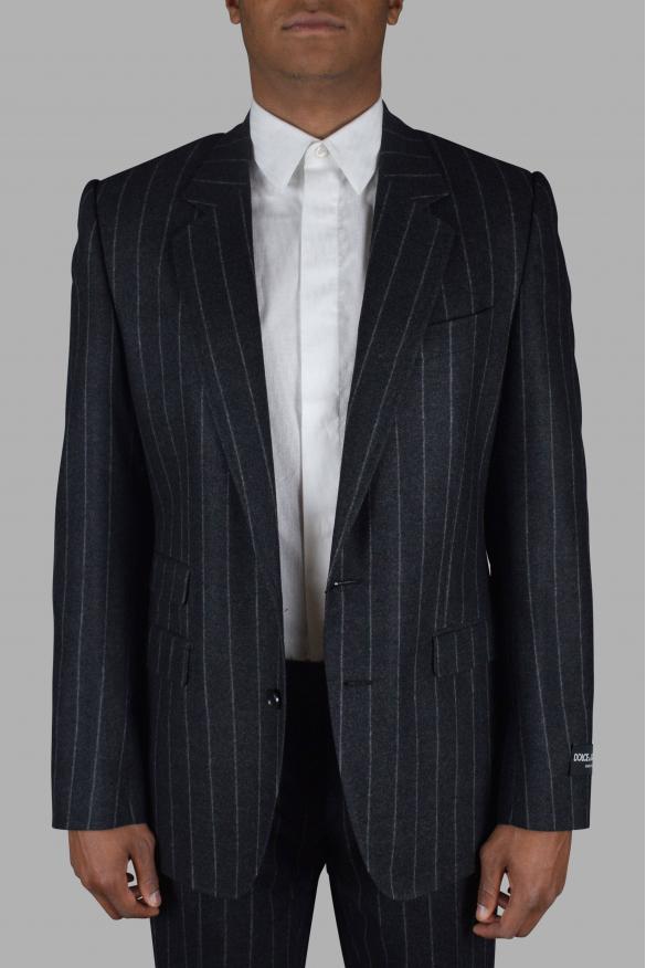 Men's luxury suit - Dolce & Gabbana two-piece suit in gray wool
