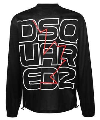 Dsquared2 TECHNO LEAF LONG SLEEVE T-shirt
