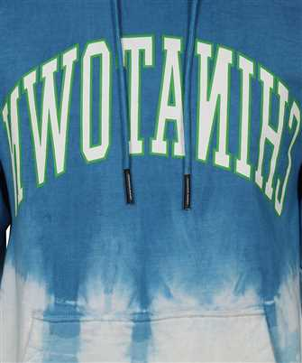 reverse arc tie dye hoodie