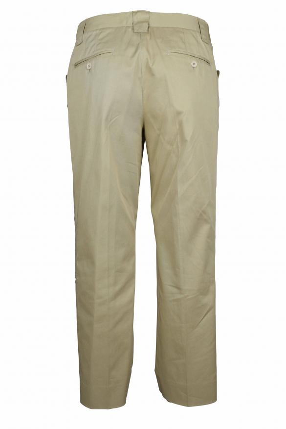 Luxury trousers for women - Dolce & Gabbana beige trousers
