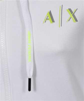 zip-front logo hoodie
