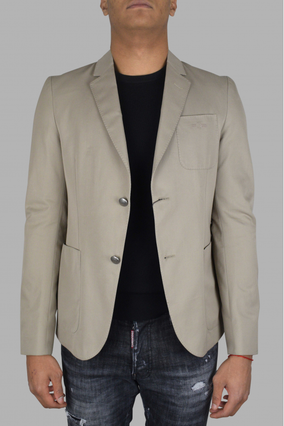 Men's luxury jacket - Gucci jacket beige with buttons details