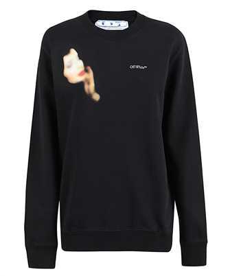 Off-White BLUE VELVET Sweatshirt