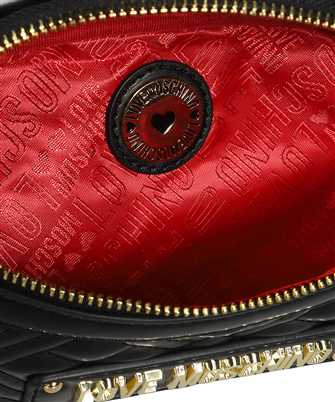 LOVE MOSCHINO LOGO QUILTED Belt bag