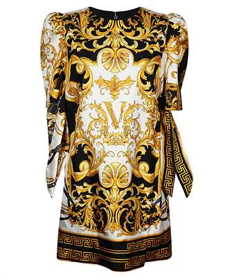 barocco print short dress