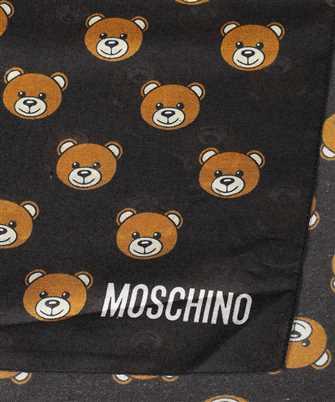 teddy pattern scarf