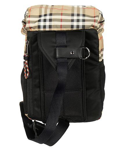 Burberry CHECK NYLON Backpack