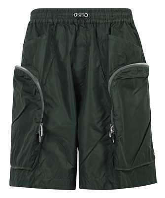 zip-pocket drawstring shorts