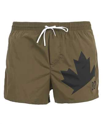 leaf swim shorts