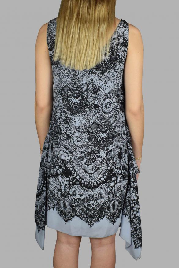Luxury dress for women - Prada light blue strappy dress in silk