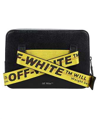 Off-White DIAGONALS LEATHER Belt bag