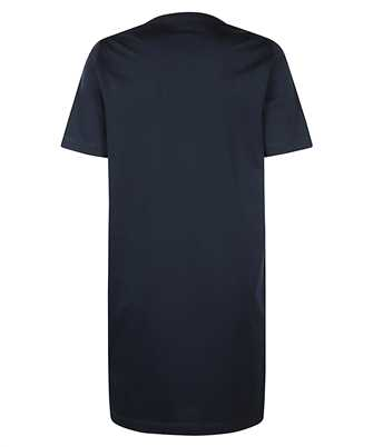 icon-print t-shirt dress