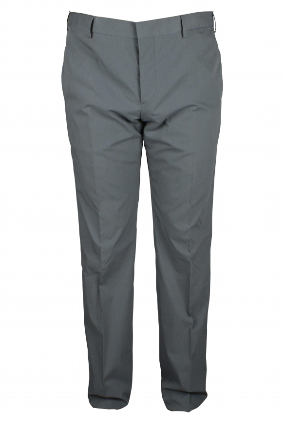 Luxury trousers for men - Prada gray classic trousers