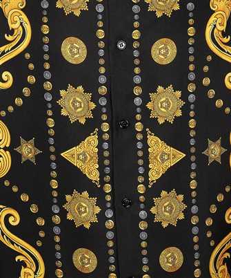 versace barocco western shirt