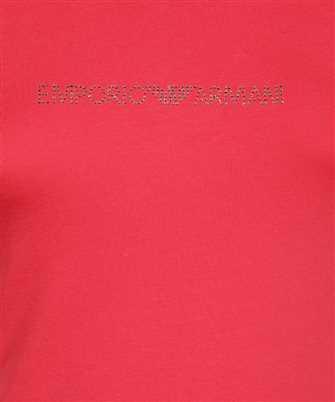 rhinestone logo T-shirt