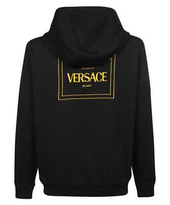 Versace LOGO EMBROIDERED Hoodie