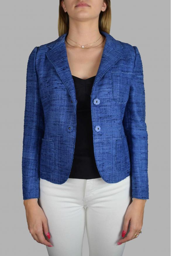Luxury jacket for women - Prada blue jacket
