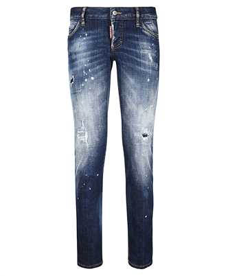 distressed ripped skinny jeans