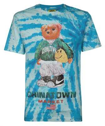 smiley sketch basketball bear T-shirt