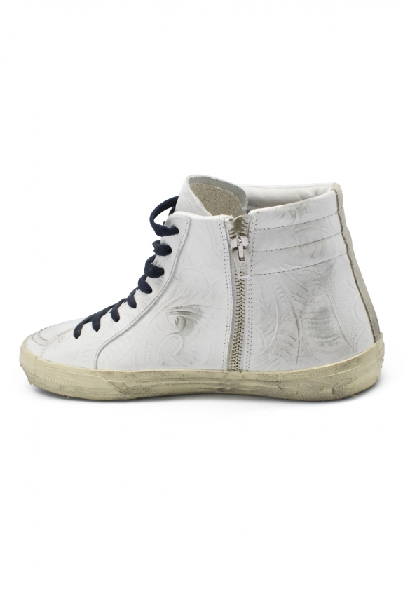 Luxury sneakers for men - Golden Goose Slide sneakers Limited Edition