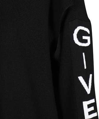 logo-band cut-out jumper