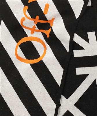 black & White Diag Arrows Scarf