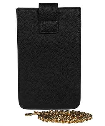 chain shoulder strap phone cover - black