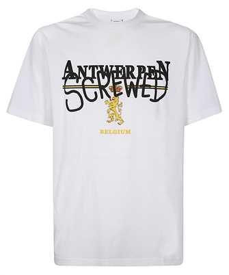 vetements antwerpen screwed t-shirt