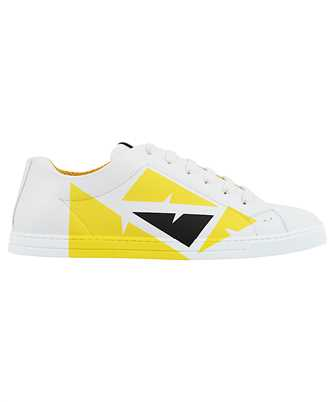 Fendi LEATHER LOW TOPS Sneakers