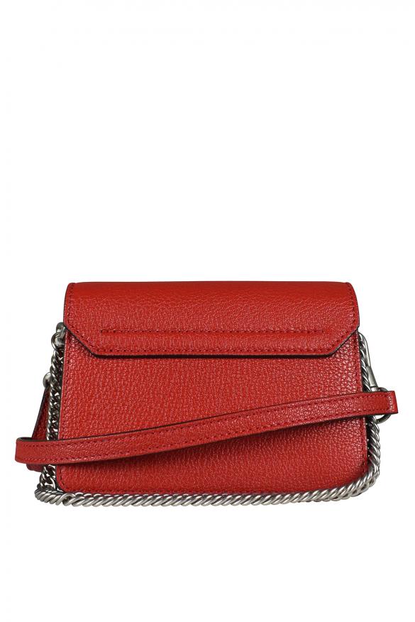 Luxury bag - GV3 nano Givenchy shoulder bag in red leather