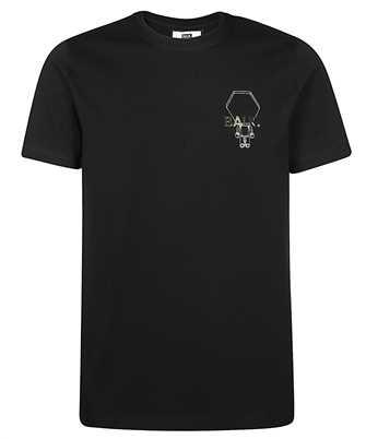 tecth badge straight t- shirt