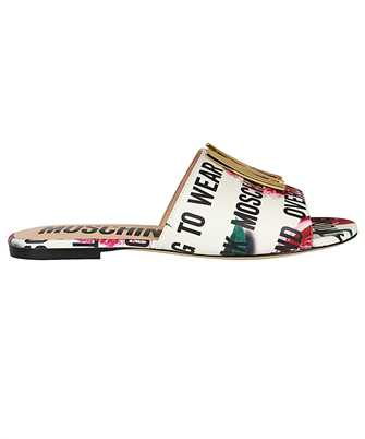 logo-print sandals