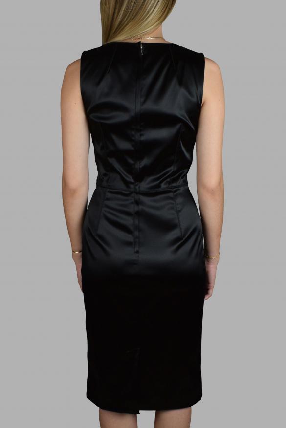 Luxury dress for women - Dolce & Gabbana shiny black dress