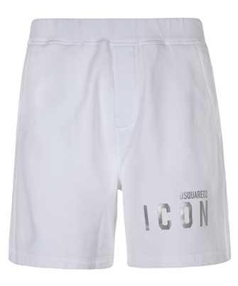icon logo-print track shorts