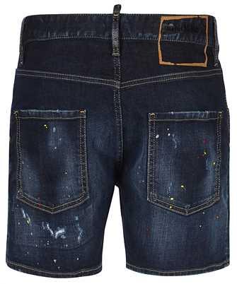 Dsquared2 DARK 1 WASH DAN COMMANDO Shorts