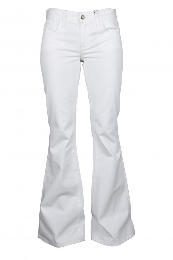 Luxury trousers for women - Ralph Lauren white trousers