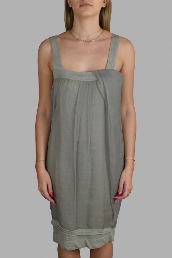 Luxury dress for women - Gray Antonio Marras dress