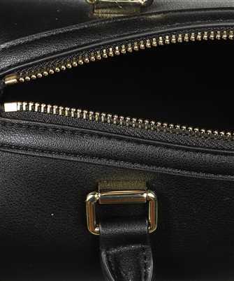 LOVE MOSCHINO GOLD METAL LOGO TRUNK Bag