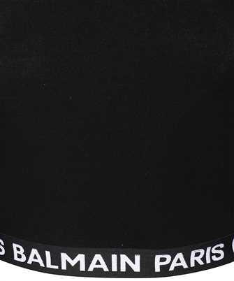 logo tape cropped top