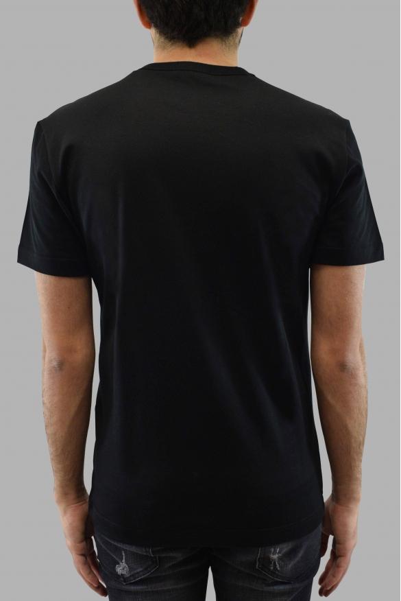 Men's designer t-shirt - Dolce&Gabbana black t-shirt