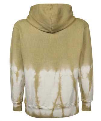 reverse Arc tie-dye hoodie