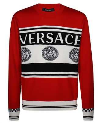 Versace LOGO INTARSIA Knit