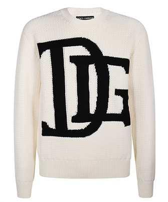 Dolce & Gabbana DG LOGO INTARSIA Knit