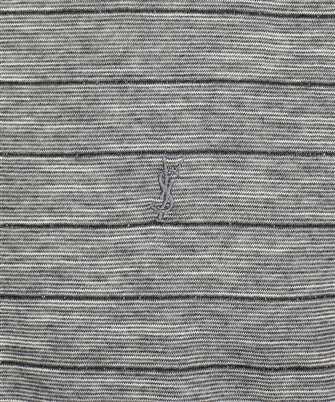 saint laurent lame stripes t-shirt