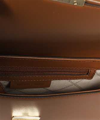 Michael Kors BRADSHAW SMALL WOVEN LEATHER SHOULDER Bag