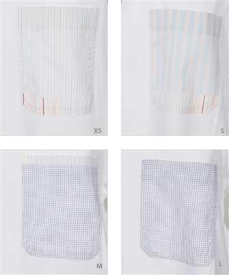 patchwork-effect T-shirt dress