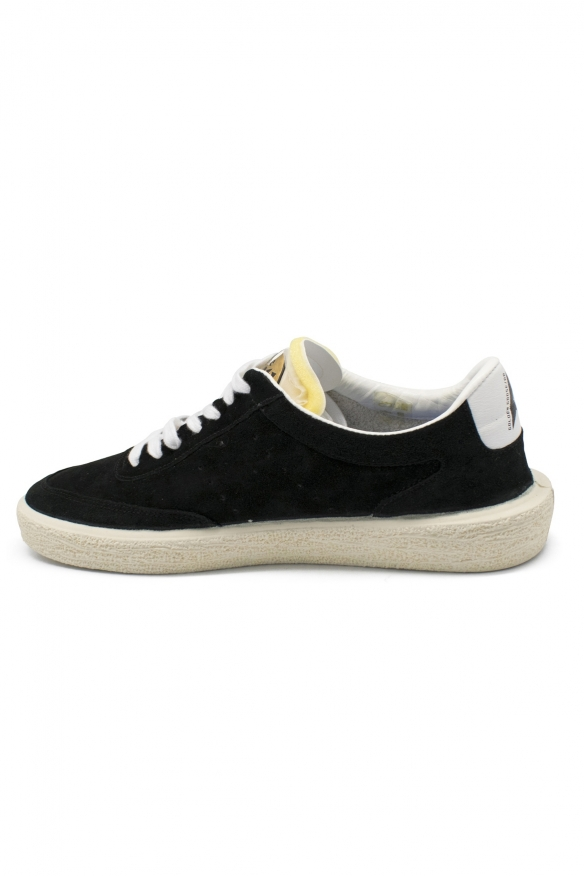 Luxury sneakers for men - Golden Goose Tennis sneakers in black suede